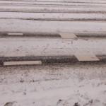Zima zaskoczyła drogowców w Gołdapi. Zmiany w organizacji ruchu