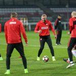 Robert Lewandowski: Podchodzimy do meczu spokojnie