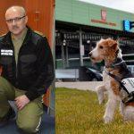 Po 8 latach służby Erka po raz ostatni pracowała na przejściu granicznym w Bezledach. Tropicielka narkotyków odeszła na zasłużoną emeryturę