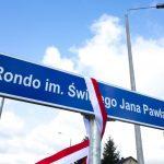 Jan Paweł II będzie nowym patronem ronda w centrum miasta