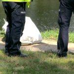 Topielec w jeziorze Długim w Olsztynie. Mężczyzna miał ranę głowy