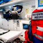 Cztery osoby ranne w wypadku na krajowej 16 w Kisielicach