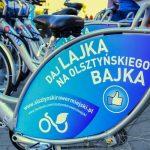 Czy Olsztyn powinien mieć wypożyczalnię rowerów miejskich? Opinie mieszkańców zbierają społecznicy. Wyniki przedstawią ratuszowi