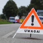 Wypadek na DK 16 pomiędzy Olsztynem, a Mrągowem. Wprowadzono ruch wahadłowy