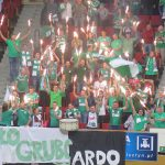 Akademicy wygrali drugi mecz z Cuprumem Lubin i zajmują 5. miejsce w tym sezonie PlusLigi. Kibice i siatkarze pożegnali trenera Gardiniego