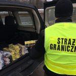 Straż Graniczna w sierpniu udaremniła przemyt o wartości ponad pół miliona złotych