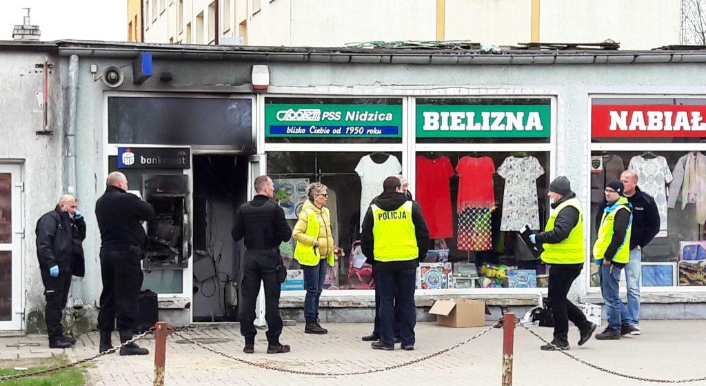 Число взрывов банкоматов в Вармии и Мазурах увеличилось