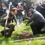 Wielkie sadzenie drzew w Ełku. W akcji wziął udział wiceminister środowiska
