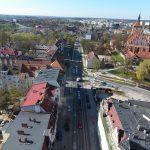 W nocy zostanie przywrócony całkowity ruch na ulicy Pieniężnego w Olsztynie