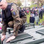 3-majowy piknik z żołnierzami NATO w Orzyszu