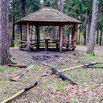 Wandale dewastują ławki i wiaty wypoczynkowe w Lesie Miejskim w Olsztynie