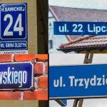 Problem z dekomunizacją nazw ulic ma nie tylko Olsztyn