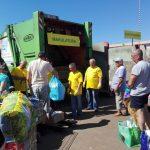 Kwiatki za odpadki – recyklingowa akcja w Elblągu