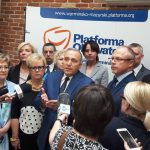 Parlamentarzyści Platformy Obywatelskiej odwiedzają województwo warmińsko-mazurskie