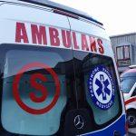 Wypadek na trasie Giżycko-Orzysz. Trzy osoby trafiły do szpitala