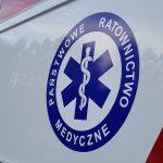 Wypadek na drodze wojewódzkiej 521. Mężczyzna trafił do szpitala