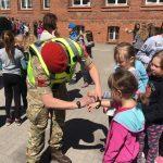 Uczniów ze szkół podstawowych w Olecku kręci bezpieczeństwo