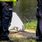 Wypadek na jeziorze Dąbrowa. Nie żyje 61-letni wędkarz