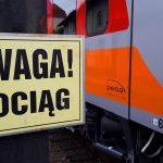 Tragiczny wypadek na torach w Olsztynie. Nie żyje mężczyzna, który wpadł pod pociąg