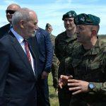 Antoni Macierewicz w Orzyszu: Saber Strike świadczy o sile i skuteczności NATO i USA