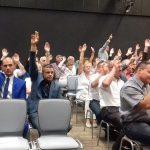 Nadzwyczajna sesja rad powiatu ełckiego w sprawie planowanych zmian w ustawach dotyczących samorządu terytorialnego