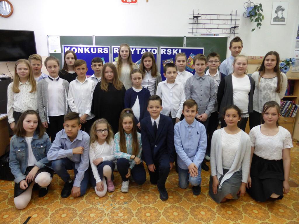 Uczestnicy konkursu z Iławy