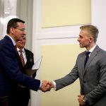 Pokonał 11,5 tysiąca osób. Piotr Ciepliński z Różnowa koło Olsztyna odebrał gratulacje od wicepremiera Morawieckiego
