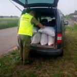 Przewoził nielegalnie 200 kg krajanki wartej 134 tys. zł.