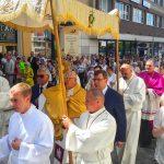 We wszystkich miejscowościach Warmii i Mazur odbyły się procesje Bożego Ciała. Centralne uroczystości zorganizowano w Olsztynie