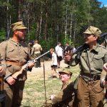 Rekonstrukcja walk Żołnierzy Wyklętych z milicją. W 1946 roku w starciu w Piduniu koło Szczytna zginęło 4 milicjantów, a 8 odniosło rany