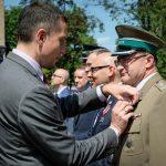 Funkcjonariusze Warmińsko-Mazurskiego Oddziału SG wyróżnieni medalami