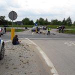 """Nie żyje motocyklista. Do tragicznego wypadku doszło na krajowej """"szesnastce"""" w okolicach Wójtowa"""