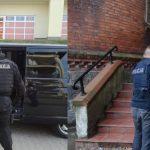 Policja zatrzymała mężczyznę podejrzanego o napad na bank w Olsztynie i kradzież kilkudziesięciu tysięcy złotych