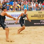Ostatnia polska para odpadła z rozgrywanego w Olsztynie turnieju Pucharu Świata w siatkówce plażowej. Zobacz ZDJĘCIA
