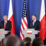 """""""Polska zawsze zwycięży. Ameryka kocha Polaków"""". Podsumowanie wizyty prezydenta USA Donalda Trumpa w Polsce"""