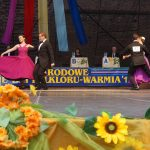 Olsztyński amfiteatr zdominowały tańce polskie. Na Warmię przyjechali tancerze z całego kraju