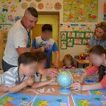 """""""Podróż dookoła świata"""" w ośrodku dla cudzoziemców w Kętrzynie"""
