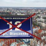 Generał Anders zastąpi Armię Ludową, Starowiejska – Kapitana Diaczenkę, a Szymborska – Kruczkowskiego. Mieszkańcy Elbląga opiniują  nowe nazwy ulic