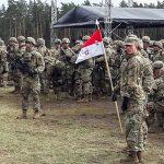 Amerykańscy żołnierze nauczyli się kilku polskich słów i zwrotki Mazurka. W Orzyszu ożył biznes