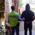 Policja zlikwidowała plantację marihuany koło Olsztynka. Zatrzymano trzy osoby