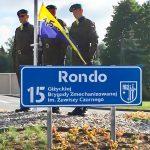 Jedno z rond w Giżycku od dziś nosi nazwę największej brygady w Polsce