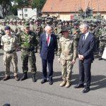 Szef NATO Jens Stoltenberg w Orzyszu: Wysyłamy jasny sygnał – jeden za wszystkich, wszyscy za jednego