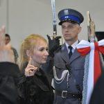 20 nowo przyjętych policjantów  złożyło w Olsztynie uroczyste ślubowanie