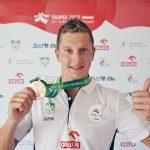 Krzysztof Pielowski brązowym medalistą 29. Letniej Uniwersjady w Tajpej [VIDEO]