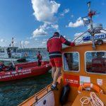 Ratownicy podsumowali wakacje na mazurskich jeziorach. Takich tłumów nikt się nie spodziewał