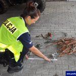 Szli sprzedać łupy, gdy złapała ich policja