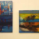Akrylowe abstrakcje w  Pasłęku