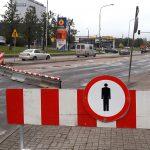 Rozpoczął się remont ulicy Leonharda w Olsztynie. Rano miasto stanęło w korku