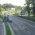 Po groźnej kolizji w Olsztynie 28-latek stracił prawo jazdy