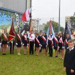 Oficjalna inauguracja roku szkolnego w   Ostródzie. Odsłonięto mural upamiętniający patrona szkoły